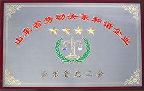 山东省劳动关系和谐企业