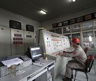 莱钢泰东生产设备耐火材料PLC