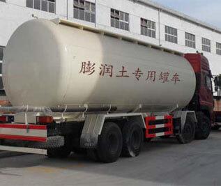 膨润土专用罐车