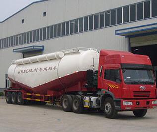 KR脱硫剂专用罐车