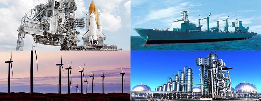 莱钢泰东实业法兰产品用于风力发电、轮船、石油管道等领域